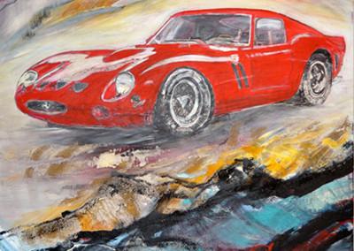 Ferrari GTO 1962, 180 x 130 cm, WVZ Nr. 457