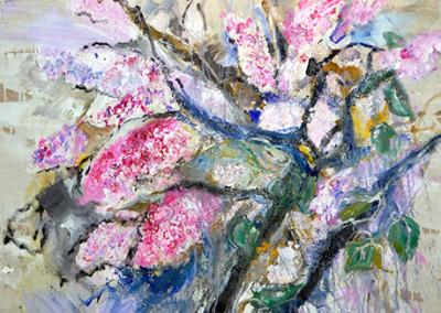 Flieder, 130 x 100 cm, WVZ Nr. 459