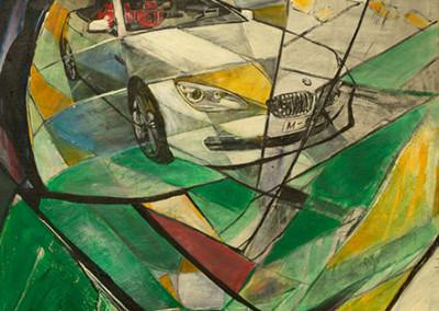 The world of BMW, 180 x 130 cm, WVZ Nr.432