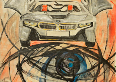 The eye of BMW, 180 x 130 cm, WVZ Nr. 433