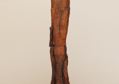 AW 33, Höhe: 110 cm, Skulptur aus Ton, 2-teilig, 2005